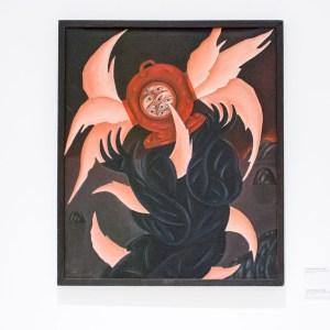 Леонид Тишков. Полеты птиц внутри головы. 1986