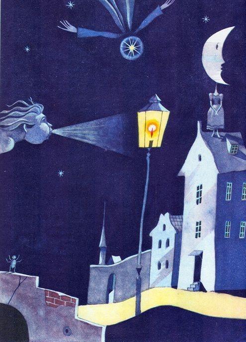 Иллюстрации: Виктор Пивоваров. Андерсен Ганс-Кристиан. Сказки. Москва: Детская литература,1975 //  conceptualism-moscow.org