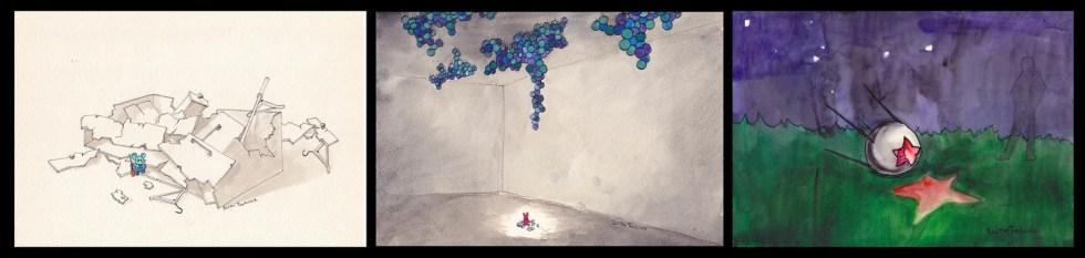 Графика Ростана Тавасиева, 15 000 руб.