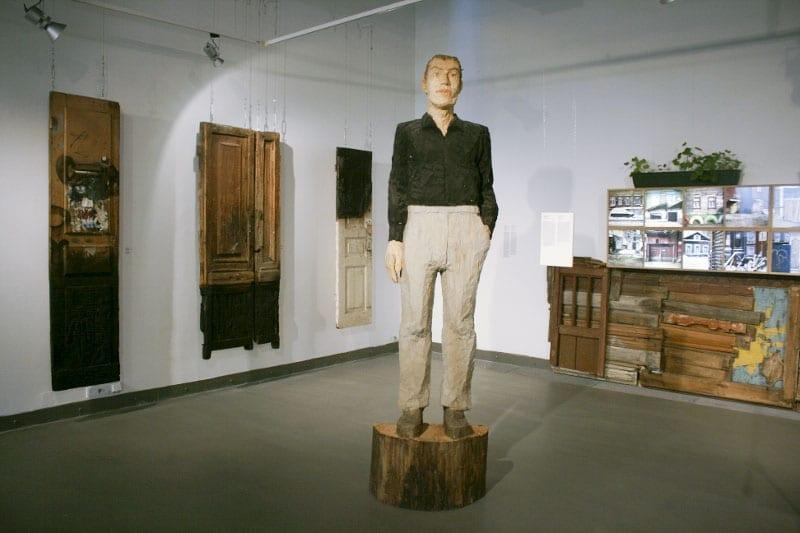 Стефан Балкенхол. Человек. 2004