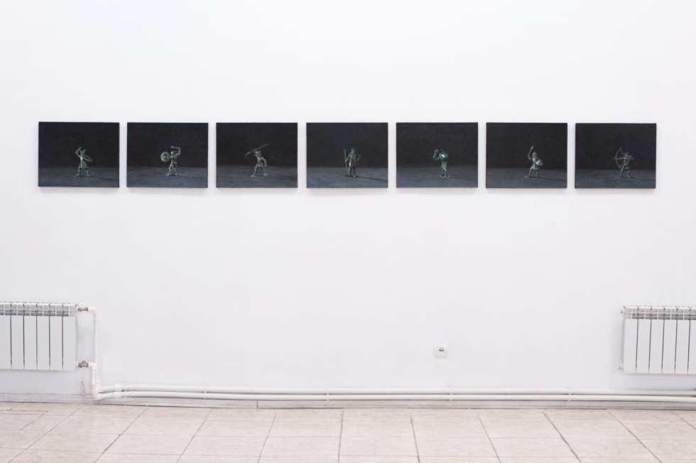 Эдгар Амроян, «Без названия»; вид экспозиции