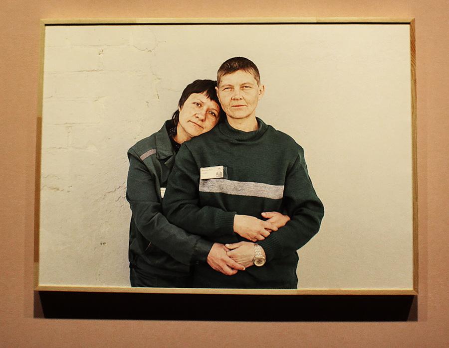 Елена Аносова, «Отделение», 2014. Вид инсталляции на выставке «Немосква не за горами». Фото work4food project.