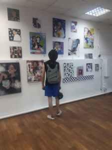 Выставка «2/SIDED». Фото автора.
