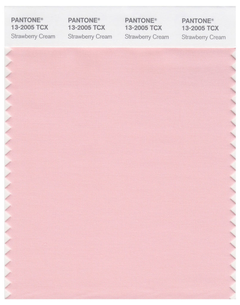 Pantone Grün Around Color Of The Month: 13-2005 Strawberry Cream | Around Journal