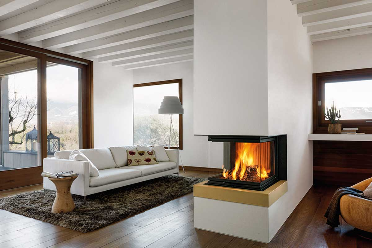 How Can You Increase The Heat Output Of An Open Fireplace Find - Caminetto Piazzetta Multifuoco