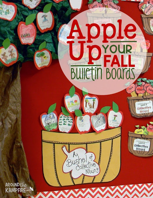 Apple Up Your Fall Bulletin Boards! - Around the Kampfire