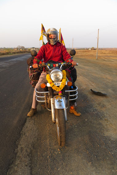 Day 2 of our bike trip from Goa to Nepal