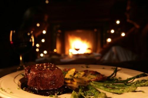 Medium Of Steak Dinner For Two