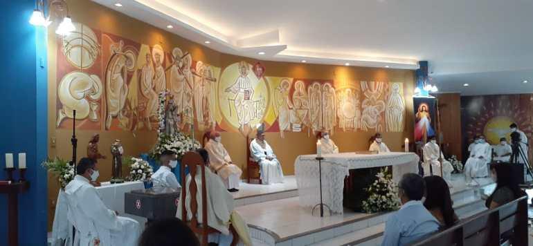 Missa de Elevação da Paróquia Nossa Senhora da Glória