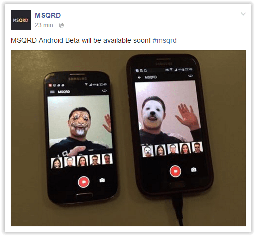 MSQRD-Android-Facebook