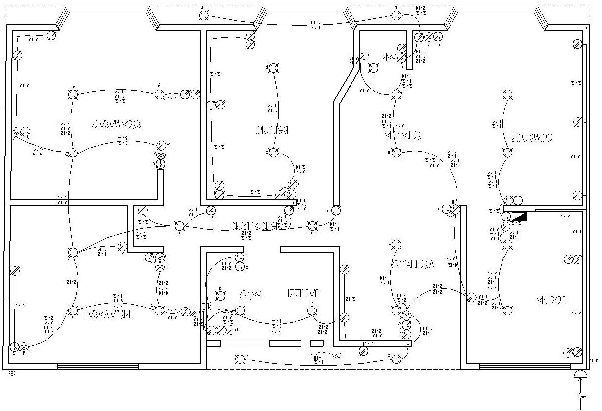 conduit diagrama de cableado