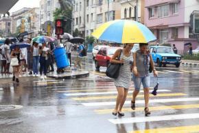 lluvias en e occdente cubano