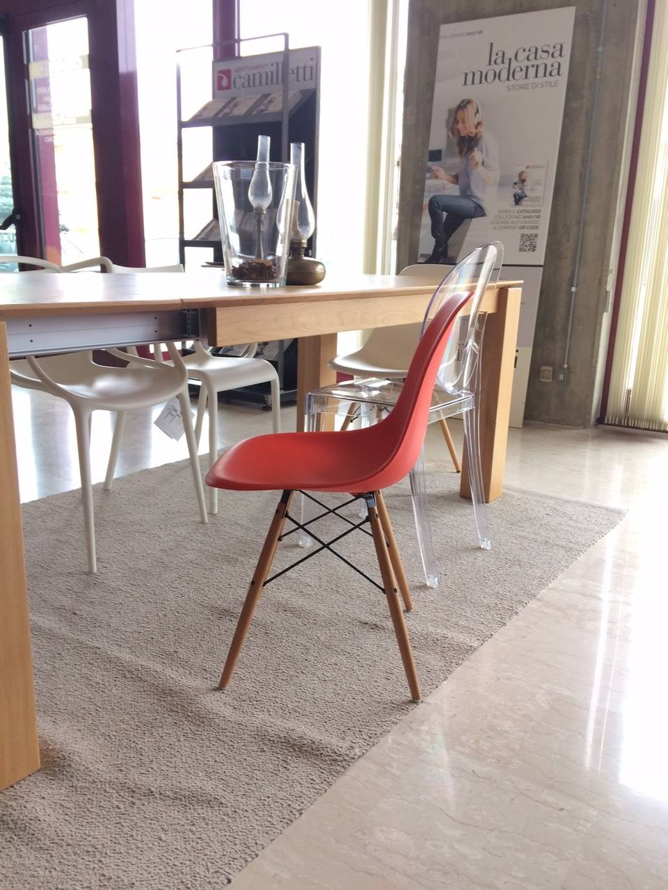 Sedie Vitra Eames Usate Sedia Eames Plastic Chair Dsw Vitra