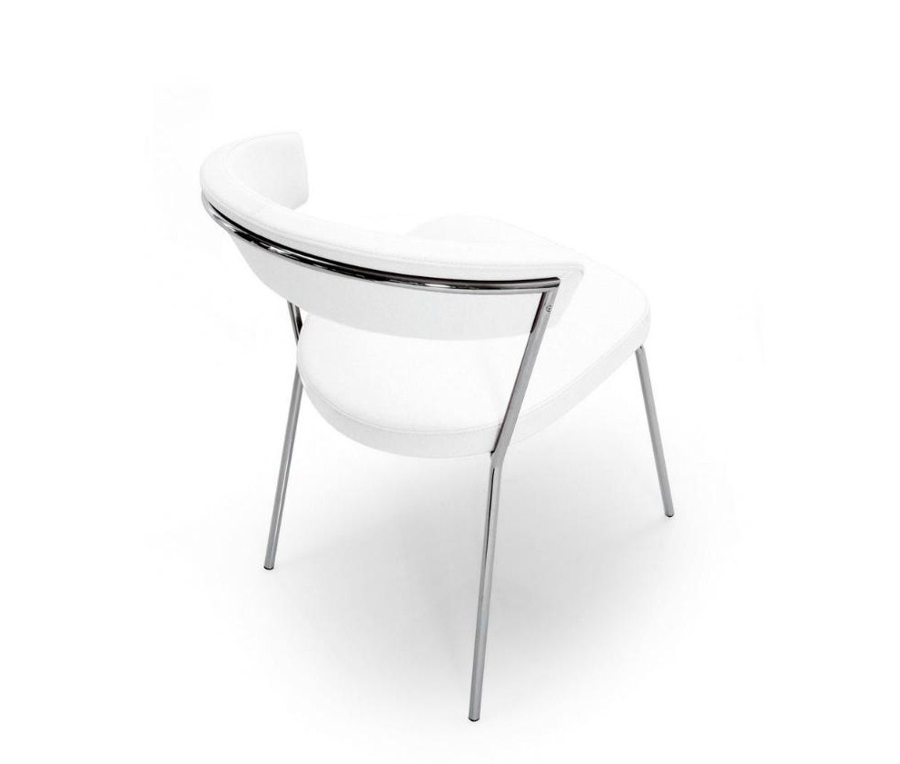 Sedie Calligaris New York Sedia New York Leather By Connubia Calligaris