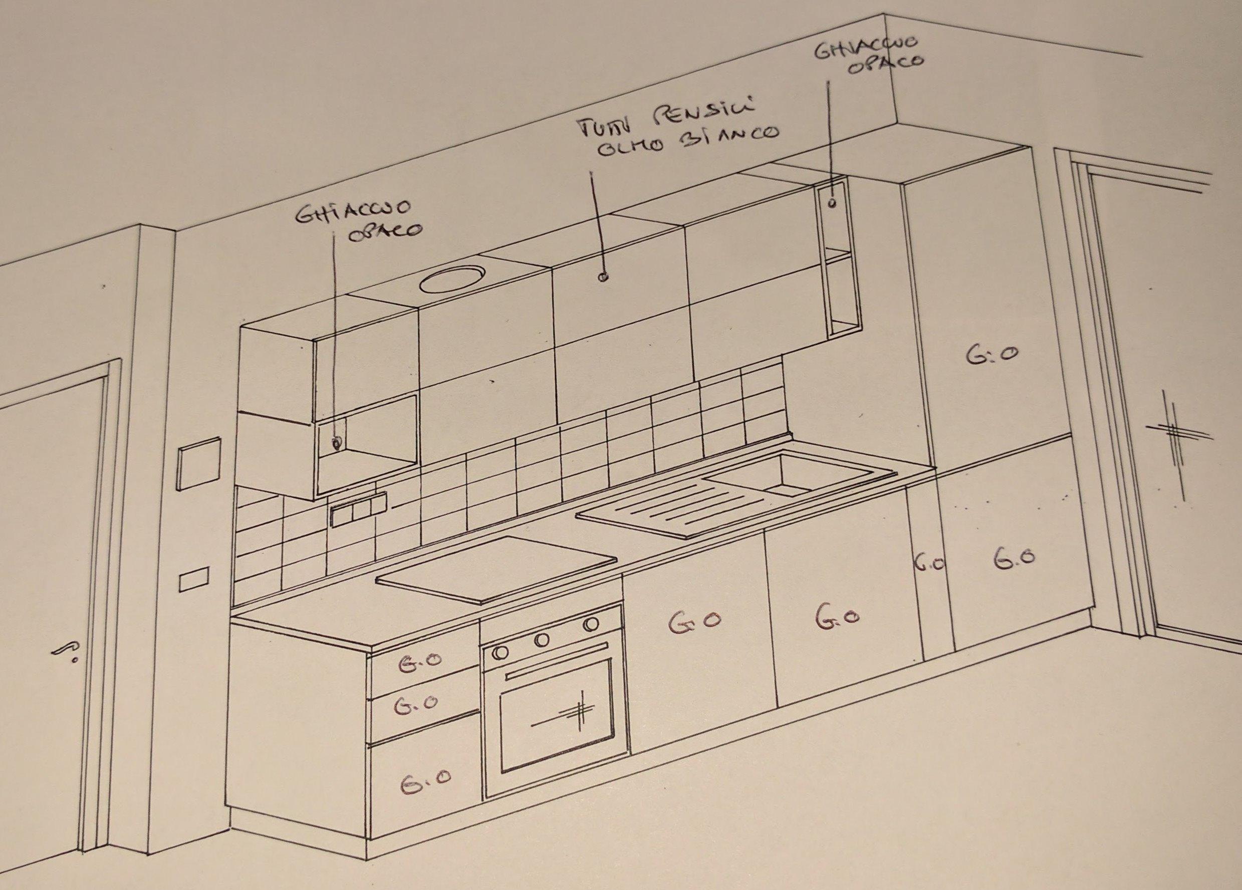 Cucina Componibile Progetto