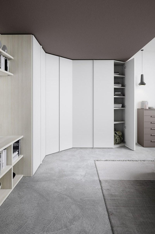 Armadi Angolari | Armadio Angolare Bianco Ikea