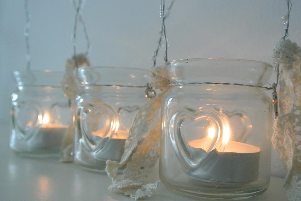 Barattoli di vetro in stile shabby chic: idee e consigli
