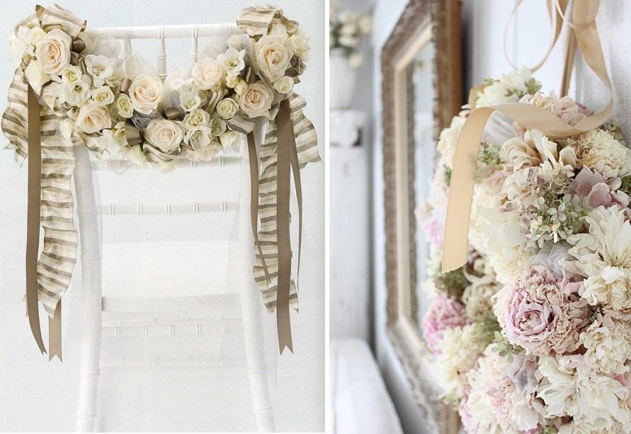 Decorazioni floreali shabby chic per la casa foto - Idee shabby chic per la casa ...