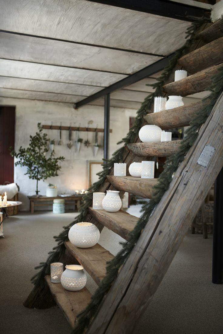 Gli interni delle case scandinave arredate per natale for Immagini di case arredate