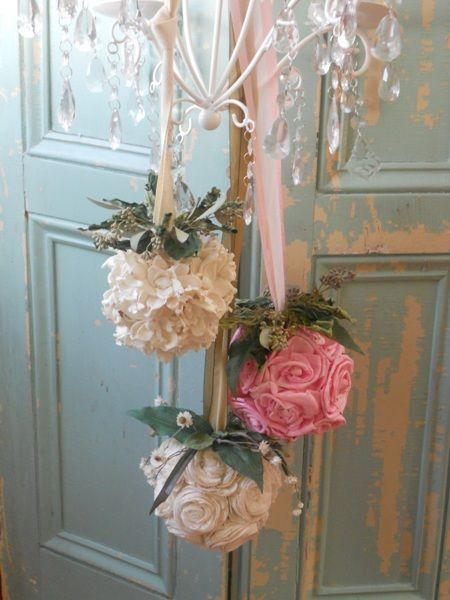 Decorare la casa con i fiori in stile shabby per natale for Decorazioni shabby chic