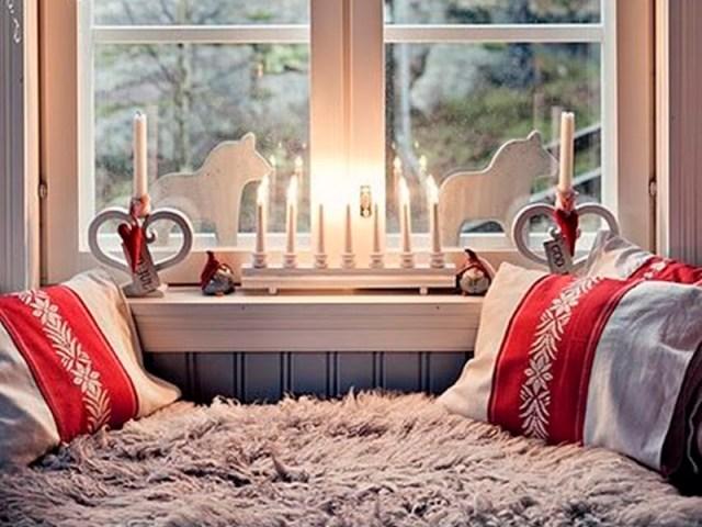 Gli interni delle case scandinave arredate per natale for Gli interni delle case piu belle