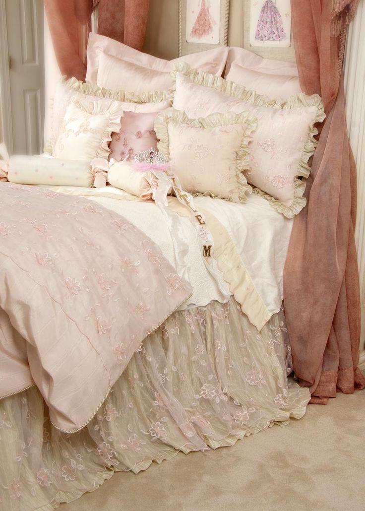 Piumoni matrimoniali per un letto shabby chic: 25 modelli da sogno ...