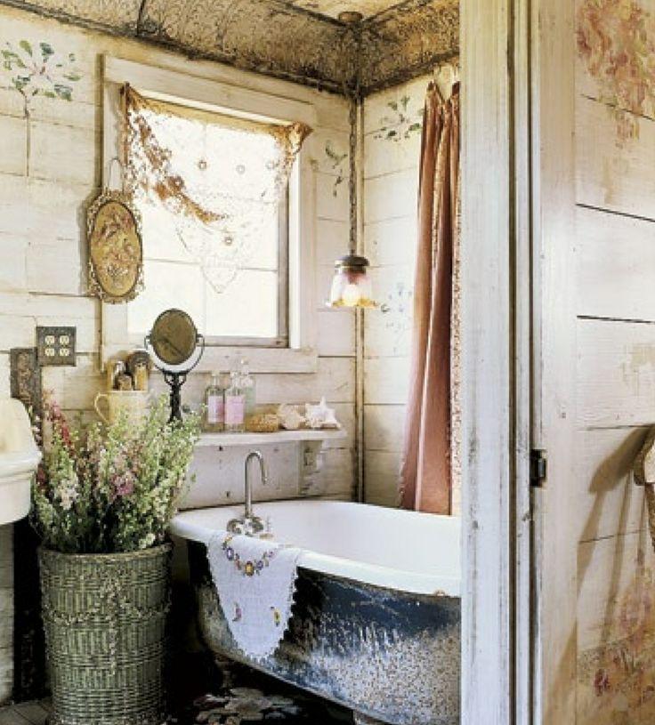 vasche creativo bagno da Shabby : bagno shabby chic