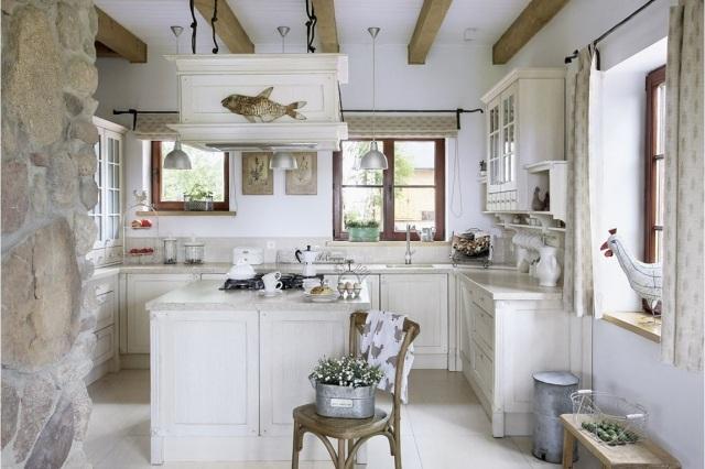 25 idee per arredare la cucina di campagna con il country chic
