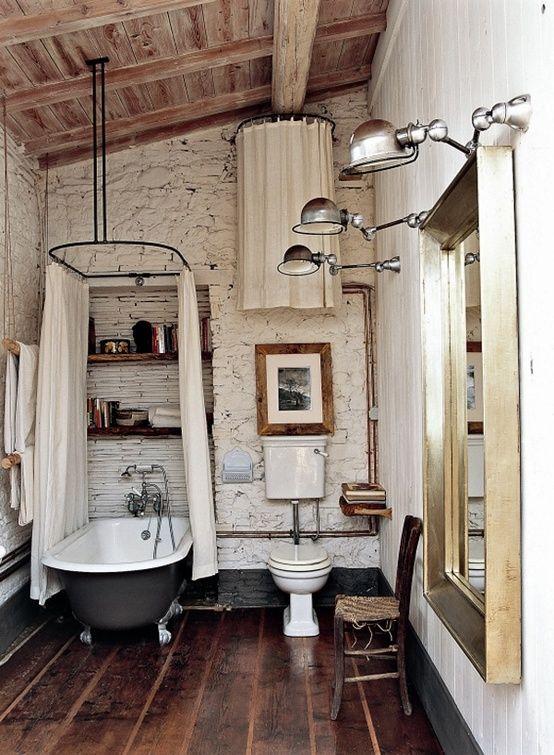 Bagno Rustico In Pietra E Legno Interior Design Pictures to pin on ...