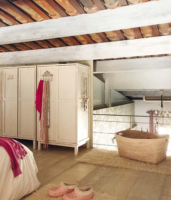 armadio della camera da letto - Arredamento Shabby
