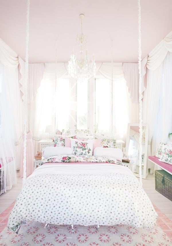 Come decorare i mobili ikea in stile shabby - Camera da letto ikea ...