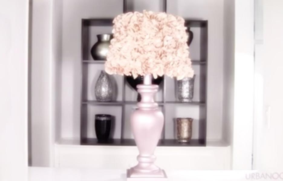 Come realizzare una lampada da tavolo in stile shabby video for Tavolo stile shabby