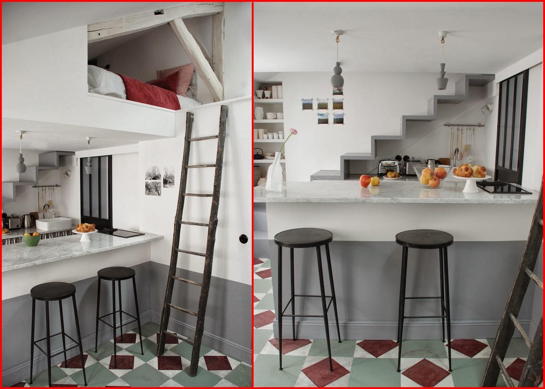 Cucina Provenzale Chic: 27 mq a parigi si trasformano in un ...