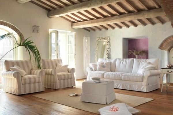 Stile Shabby Chic Moderno. Cool Arredo Bagno In Legno Bianco Stile ...
