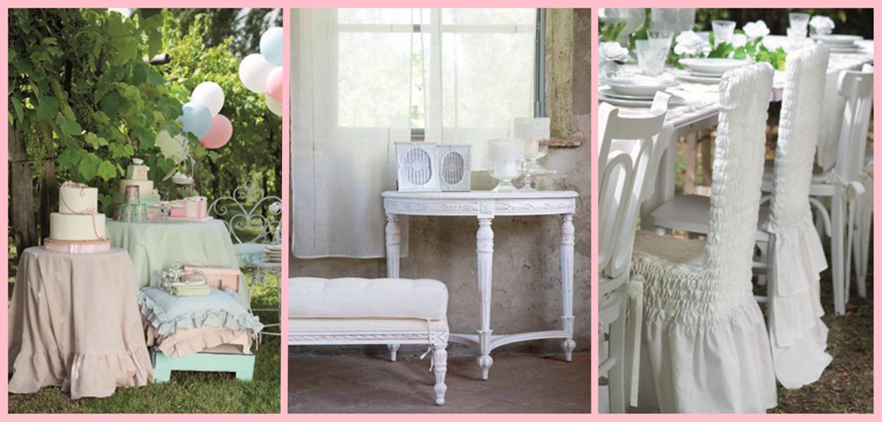 Lo shabby chic di blanc maricl eleganza e artigianalit toscana in rosa foto - Blanc mariclo mobili ...
