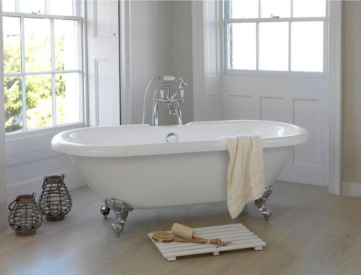 Piastrelle bagno shabby arredare il bagno con le cementine foto