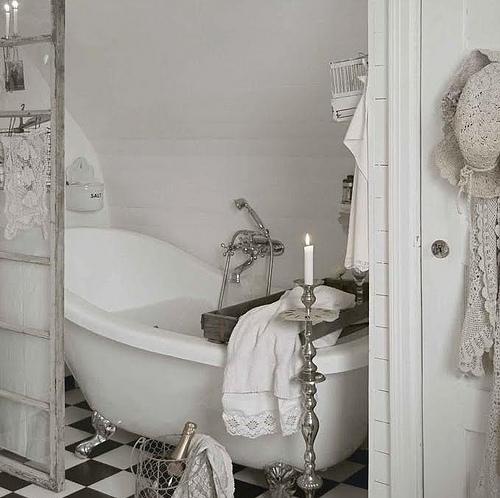 vasche creativo bagno da Shabby : vasca shabby e champagne - Arredamento Shabby