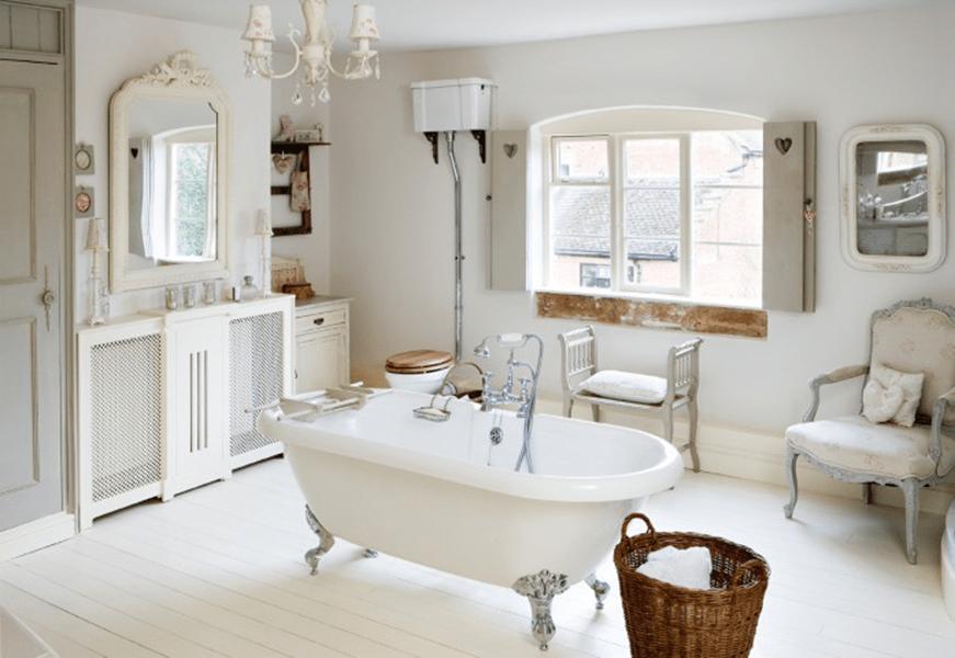 Il bagno shabby chic come arredarlo con mobili e accessori for Mobili bagno e accessori