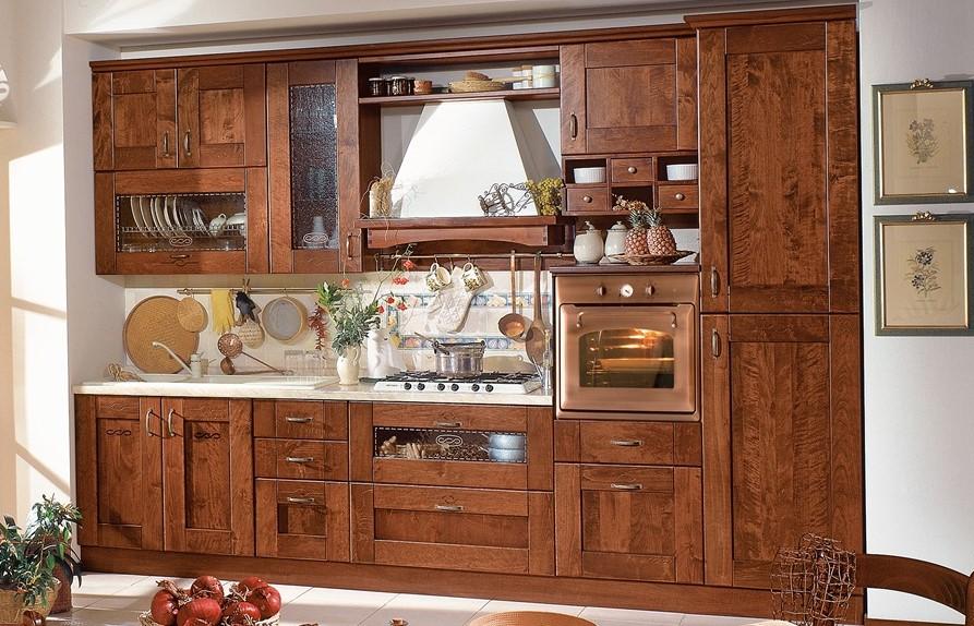 Le cucine rustiche di mondo convenienza e lube - Arredamento cucine rustiche ...