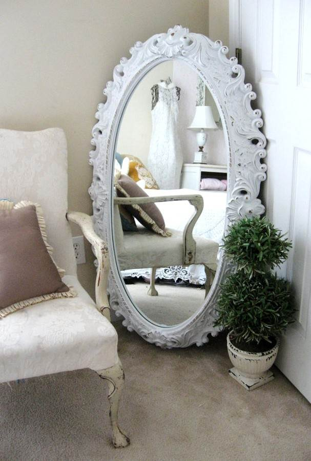 Specchi in stile shabby chic (foto)