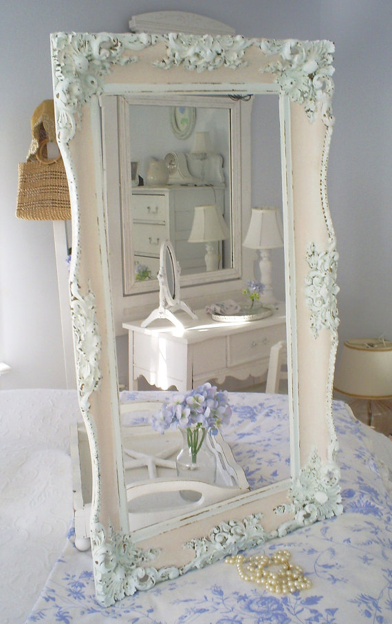 Specchi in stile shabby chic foto for Photo shabby chic