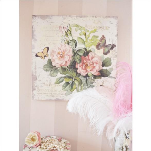 Quadri shabby chic 8 idee per arredare casa foto - Dipinti camera da letto ...