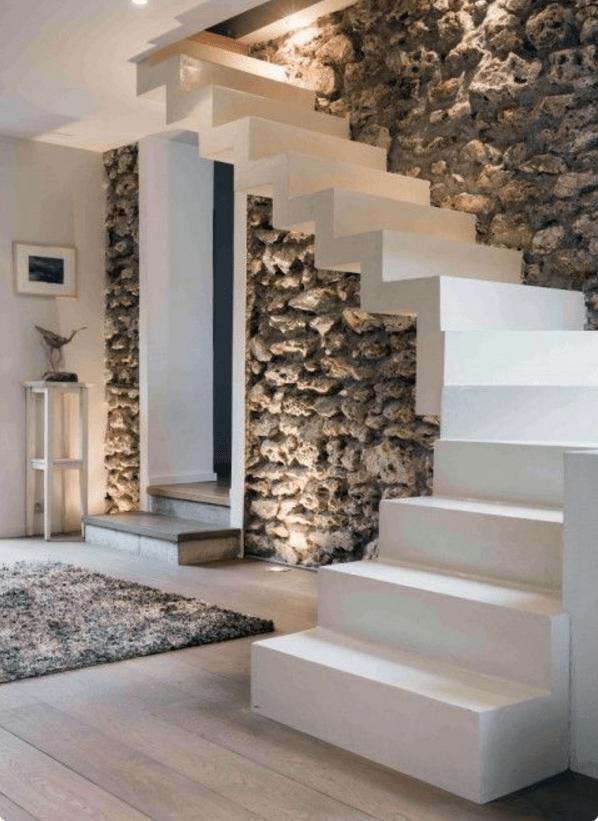Scegli le pareti moderne in pietra per gli ambienti più belli ...