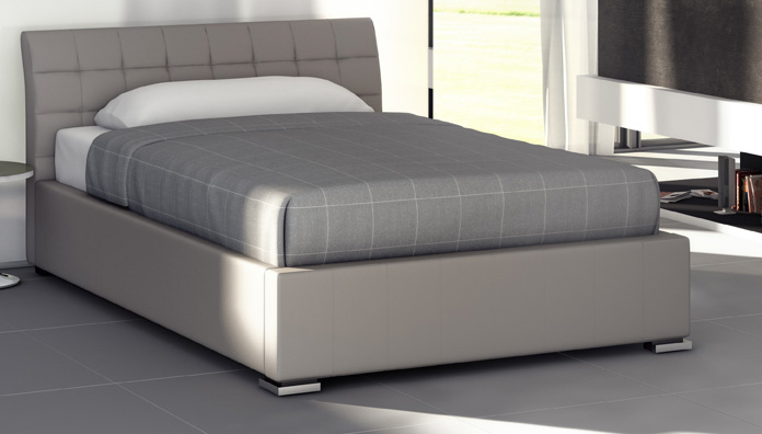 Ikea Upholstered Bed Target Point Bed Chamonix Semi-double - Three-quarter Bed