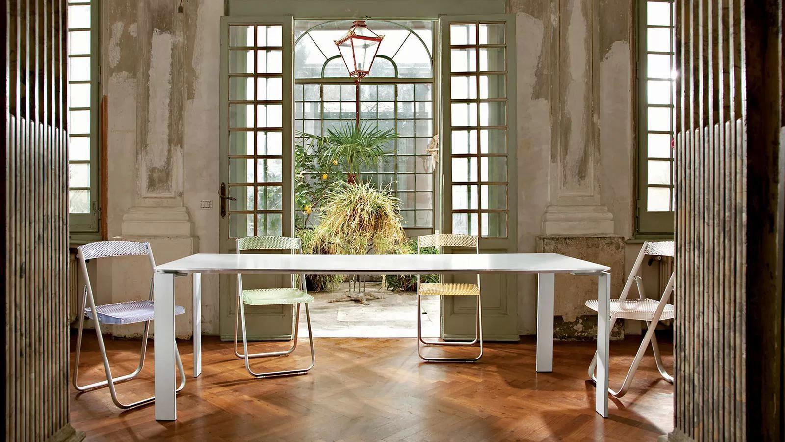 Table 120 Extensible Kartell Four 4509 - Table