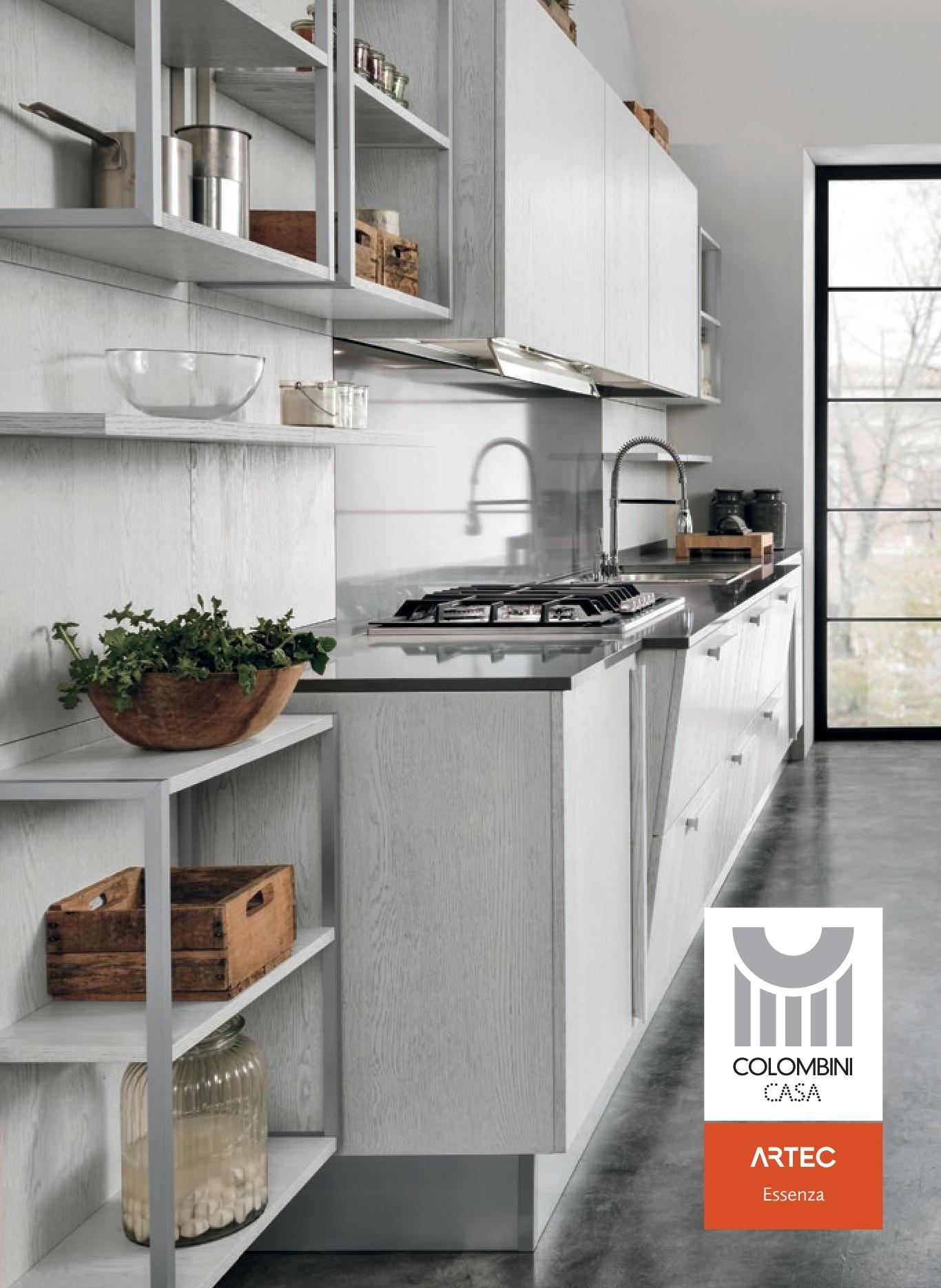 Cucine Artec Colombini | Cucina Quadra 28 Images Cucina Completa Ala ...