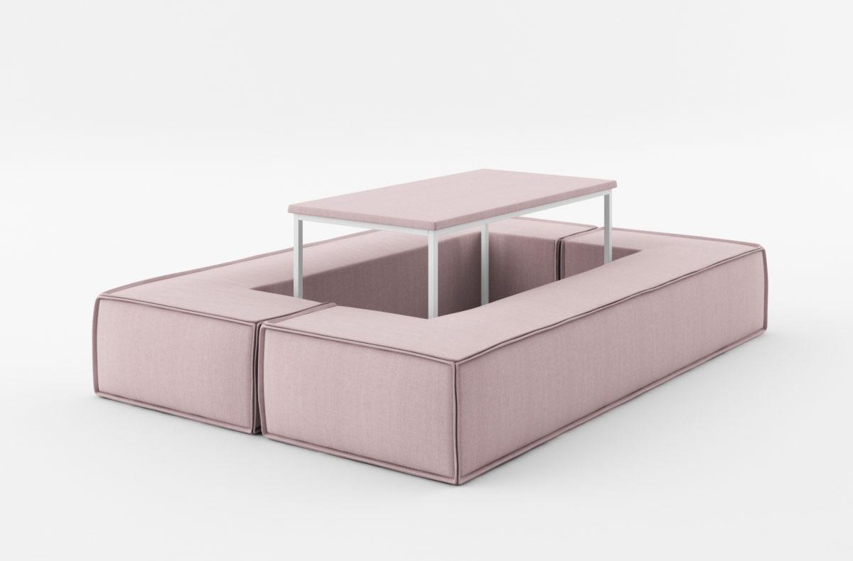 Divano Letto Rosa : Divano letto l 180 divani morbidi divano tobias in tessuto