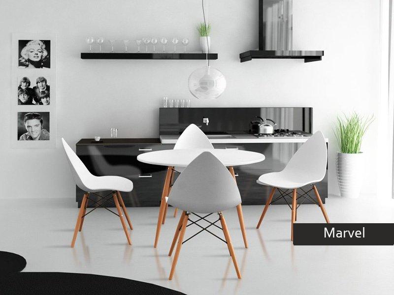 Soggiorno Cucina Moderno | Tavoli Allungabili Rotondi Tavoli ...