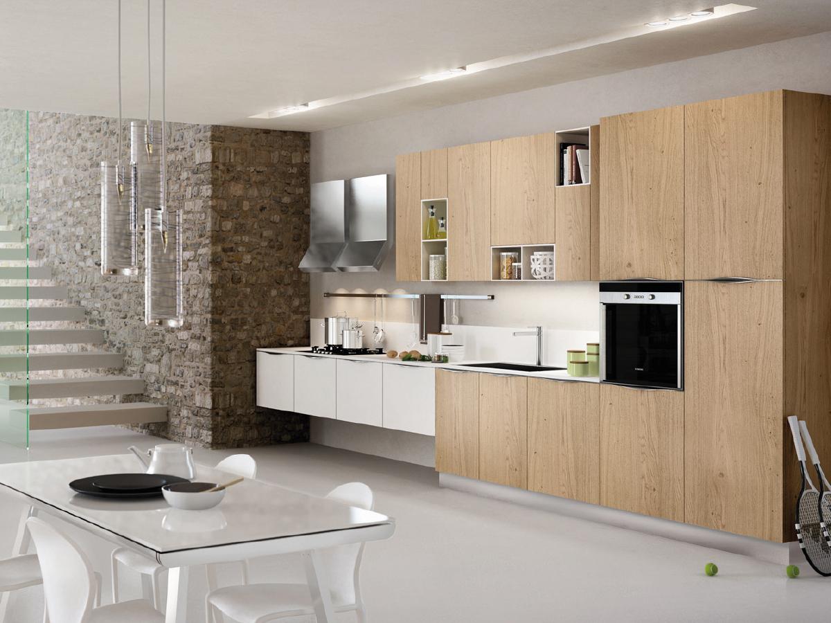 Cucina Lube Essenza Olmo Visone | Essenza Cucine Lube Brianza