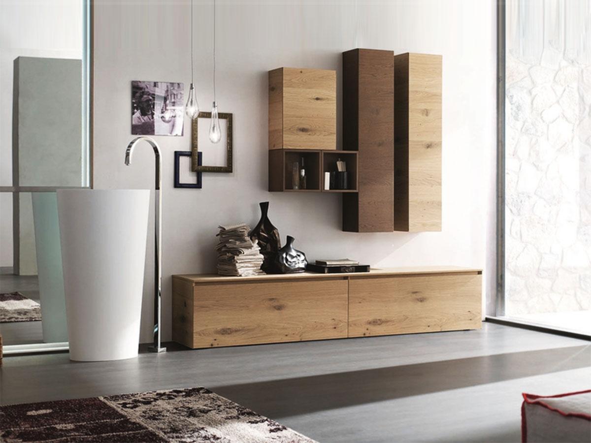 Bagno Legno Bianco : Mobili legno naturale armadio grezzo anta con fianchi sagomati
